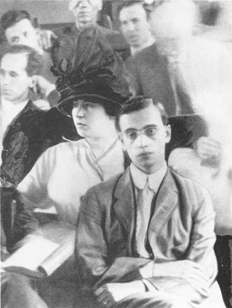 Leo Frank late July 1913 at his Murder Trial